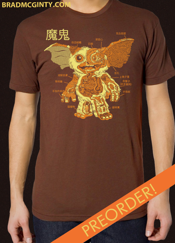 Paper Pusher » Anatomy Of the Mogwai Shirts Have Arrived!